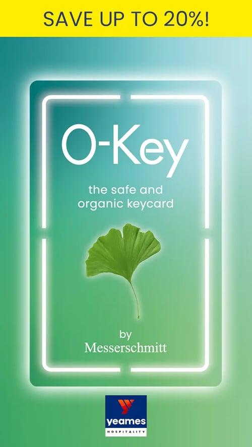 O-Key - The Organic Gingko Key Card